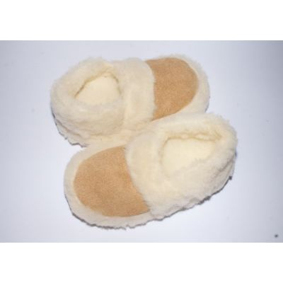 Women's Warming Fluffy Slippers Sheep's Wool Closed Back