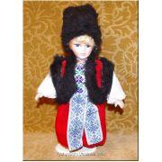 Ukrainian National Costumed Boy Doll