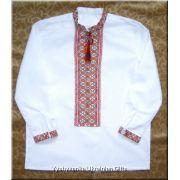 Ukrainian Hand Embroidered Boy's Shirt