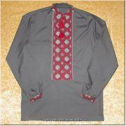 Hand Embroidered Men's Ukrainian Shirt - M