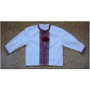 Hand Embroidered Ukrainian Boy's Shirt