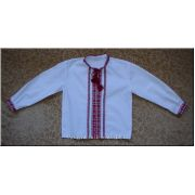 Hand Embroidered Boy's Shirt from Ukraine