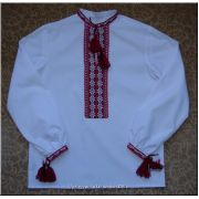 Ukrainian Boy's Shirt Hand Embroidered