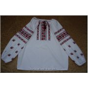 Hand Embroidered Women's Ukrainian Blouse - L