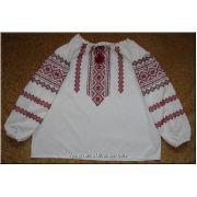 Hand Embroidered Women's Ukrainian Blouse - XXL