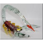 Colourful Scorpio - Glass Animal Figurine