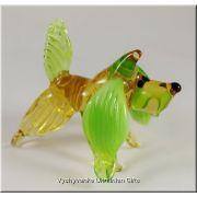 Funny Dog - Ukrainian Glass Animal Figurine