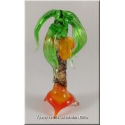 Colourful Palm - Murano Glass Tiny Figurine