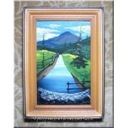 Ukrainian Oil Painting - Mountain River