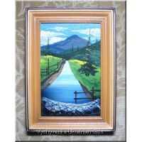 Ukrainian Oil Painting - Mountain River