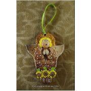 Hand made Ornament Bread Dough Angel
