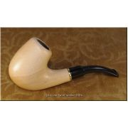 Ukrainian Tobacco Smoking Pipe - Light Bent