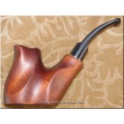 Hand Carved Tobacco Smoking Pipe - Stand
