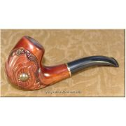 Tobacco Smoking Pipe Hand Carved - Pearl