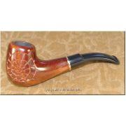 Ukrainian Wooden Tobacco Smoking Pipe - Snail