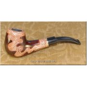 Hand Carved High Quality Tobacco Smoking Pipe - Liana