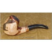 Gorgeous Ukrainian Tobacco Smoking Pipe - Lion