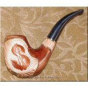 Tobacco Smoking Wooden Pipe - Dollar