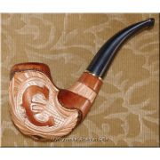 Tobacco Smoking Wooden Pipe - Euro
