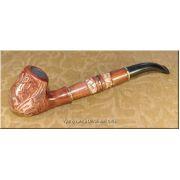 Unique Ukrainian Tobacco Smoking Pipe - Golden Eagle