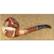 Dark Brown Limited Edition Smoking Pipe - Lion