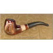 Hand Carved High Quality Tobacco Smoking Pipe - Anchor