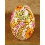 Hand Painted Goose Egg Pysanka Ukrainian Petrykivka