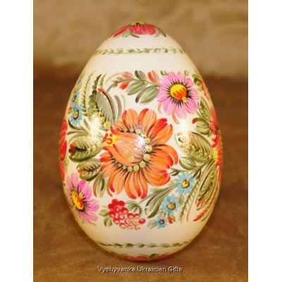 Real Goose Egg Ukrainian Pysanka Petrykivka