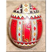 Ukrainian Chicken High Quality Pysanka Easter Egg
