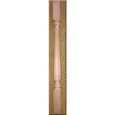 Attractive Carved Wood Stair Balusters 36""