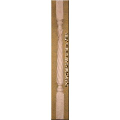Carved Twisted Stair Balusters Spindles 36""