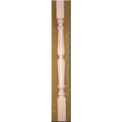 Beautifully Carved Wood Stair Balusters 36""