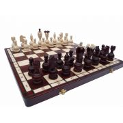 Hand Carved Wooden Chess Set - Persian