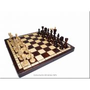 Polish Hand Carved Wooden Chess Set - Ace