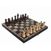 Handcarved Wooden Chess Set - Olympic Small