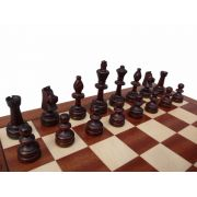 Polish Handcarved Wooden Chess Set - Tournament
