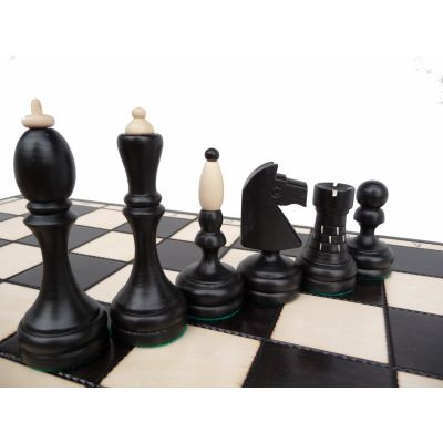 Unique Wooden Hand Carved Classic Chess Set