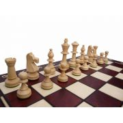 Polish Hand Carved Wooden Chess Set - Consul