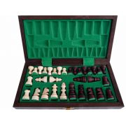 Handcarved Wooden Chess Set - Tournament Tourist