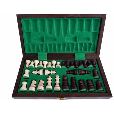 Handcarved Wooden Chess Set - Tournament Tourist
