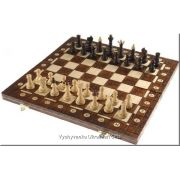 Polish Handcarved Wooden Chess Set - Junior