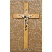 Ukrainian Hand Carved Wooden Wall Cross Crucifix JESUS